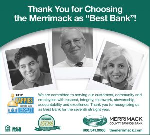 Merrimack Cappie Awards Ad